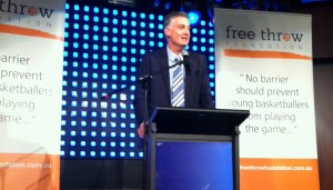 Basketball Australia CEO Anthony Moore